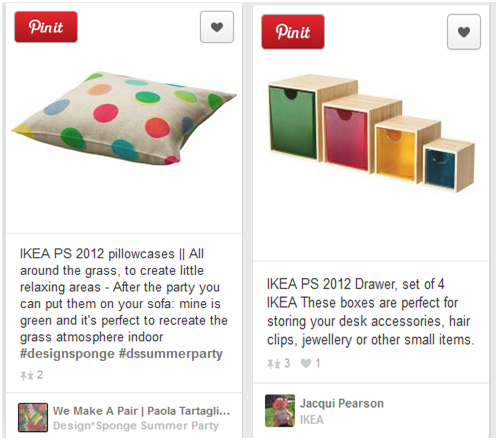 Categorize boards by your products on Pinterest-2