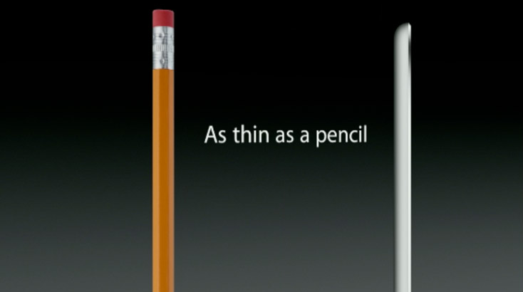 Thin as a pencil