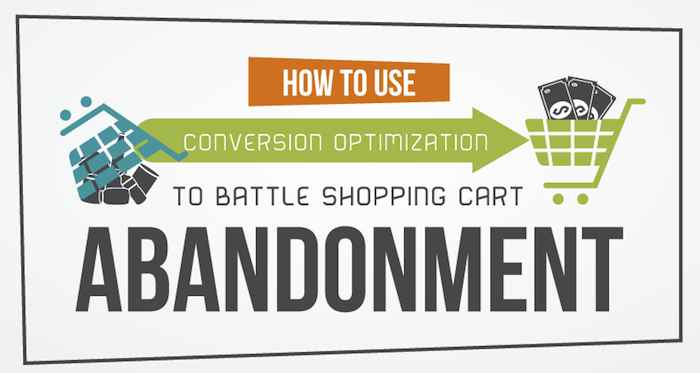 [Infographic] Use Conversion Optimization to Battle Shopping Cart Abandonment