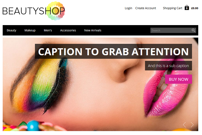 Beautyshop Shopio Ecommerce Theme