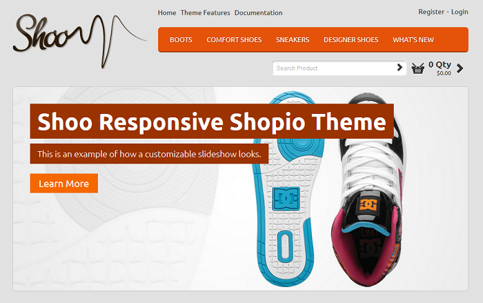Shoo Shopio Ecommerce Theme
