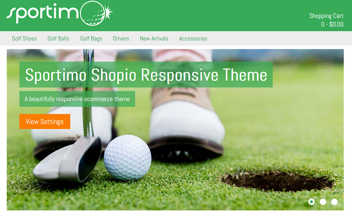 Sportimo Shopio Ecommerce Theme
