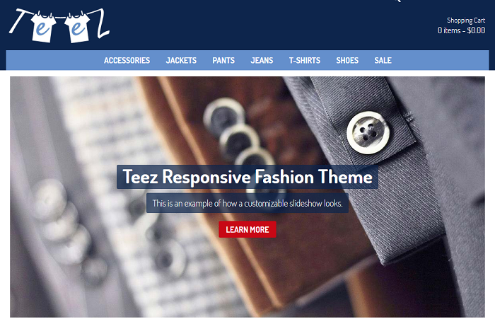 Teez Shopio Ecommerce Theme