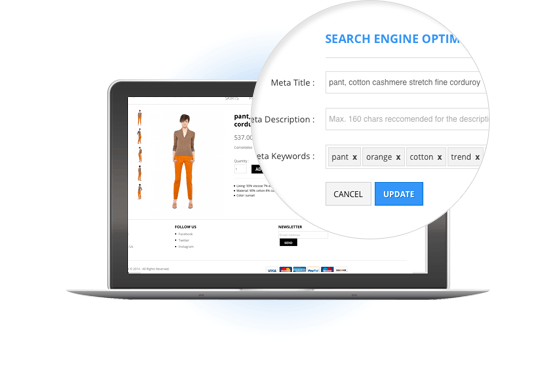 SEO Friendly Product Pages